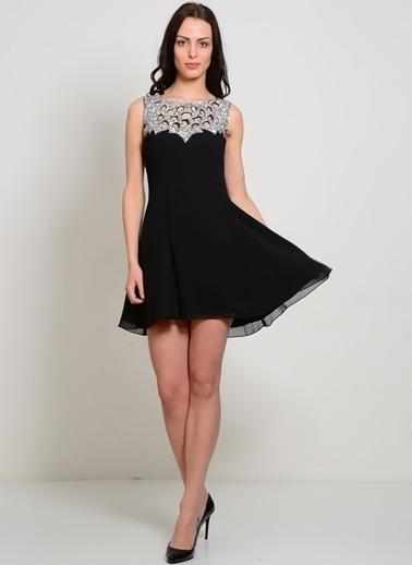 Liquorish Elbise Siyah